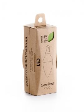 Светодиодная лампа Geniled EVO Е14 С37 5W 4200K