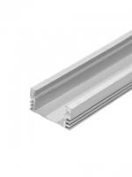 Профиль для светодиодной ленты шириной до 10 мм анод серебро