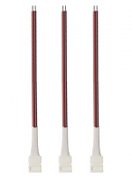 Набор коннекторов запитывающих для одноцветной светодиодной ленты шириной 8 мм 3 шт